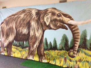 Mastodon Mural